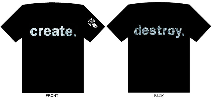 Create/Destroy T (XL) $12