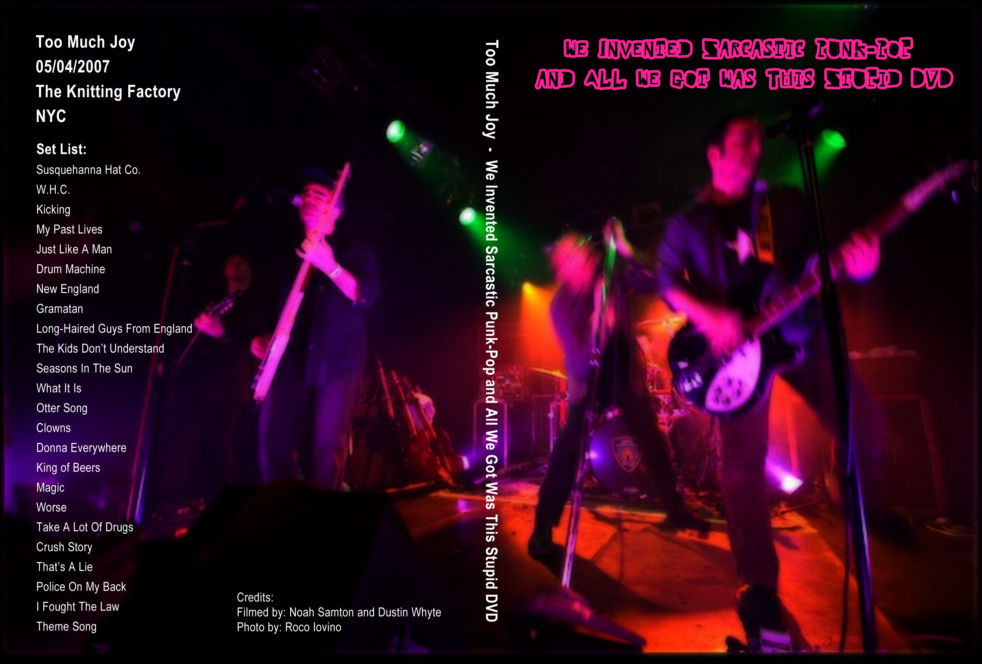 Knitting Factory, 5/4/2007 DVD ($22.99)